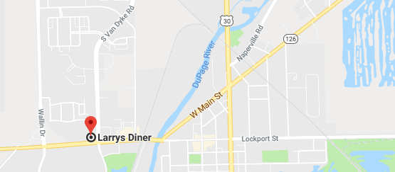 Directions to Larrys Diner
